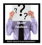 Leverage the power of feedback