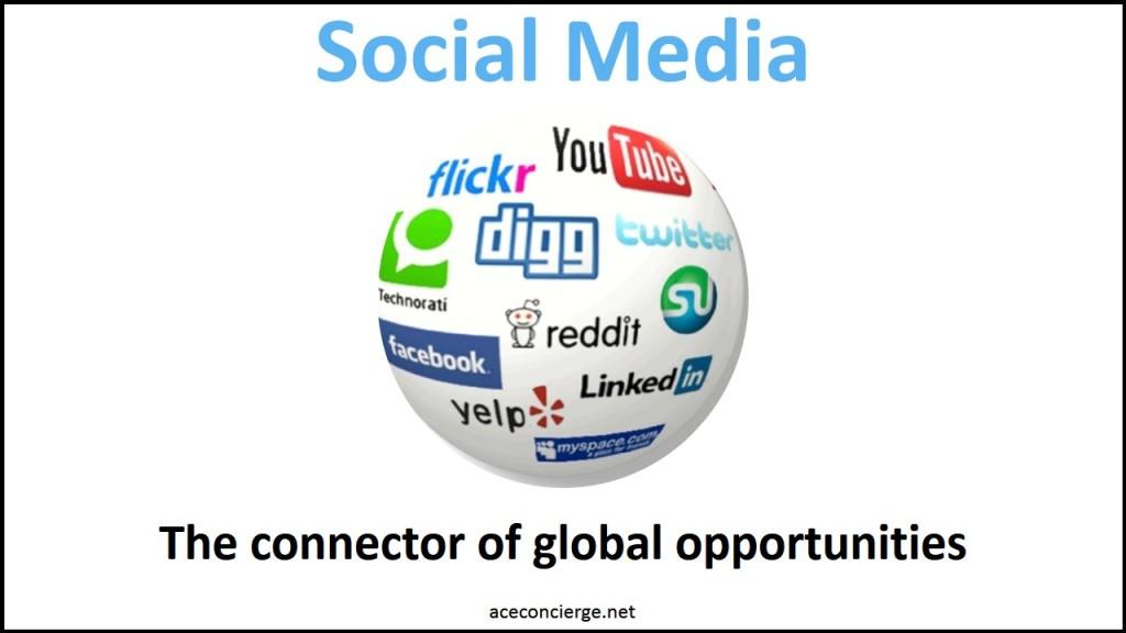 Ace Concierge Social Media
