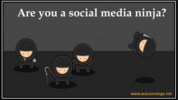 Ace Concierge Social Media Ninja