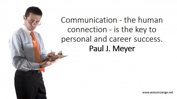 Communication the key to success